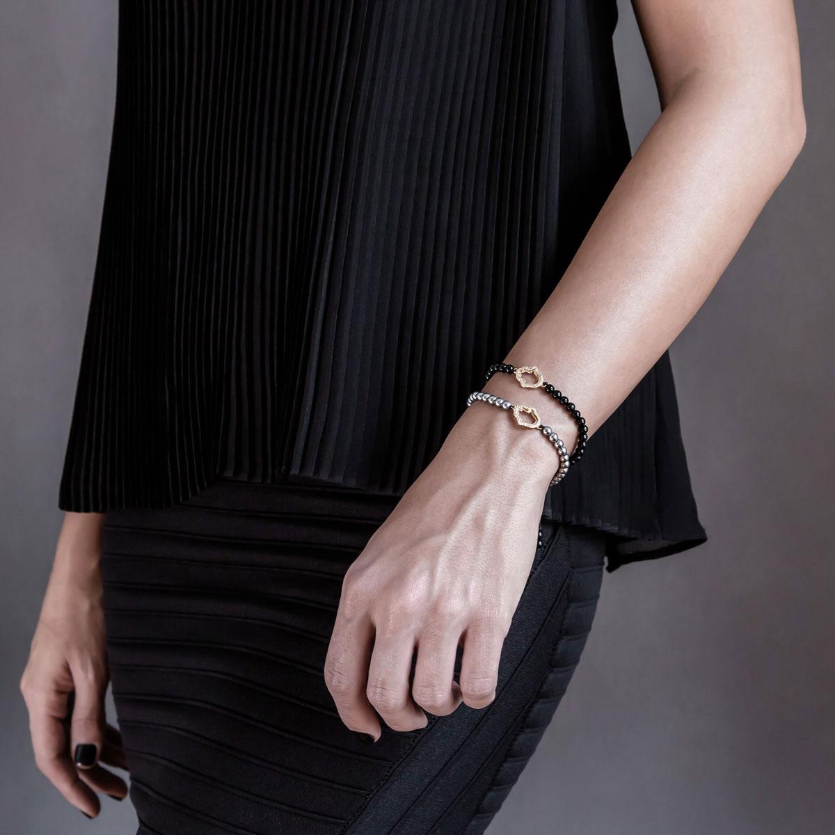 دستبند طلا دست ۲