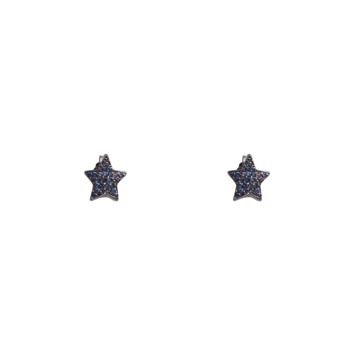 گوشواره طلا Blue Star