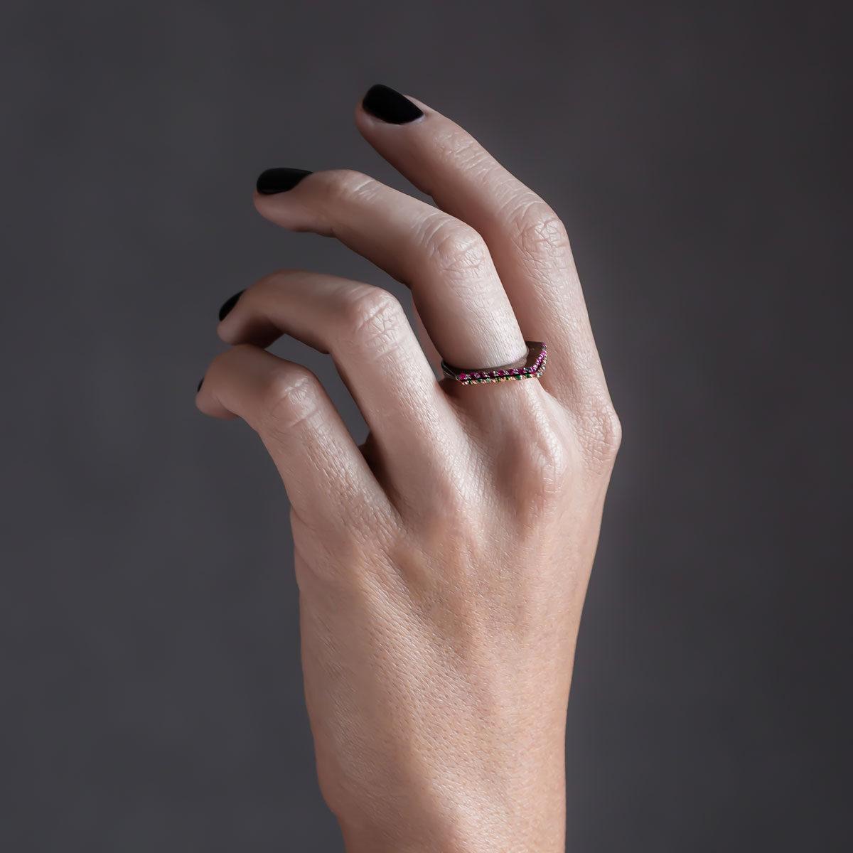 پرسته انگشتر طلا ویانا 2
