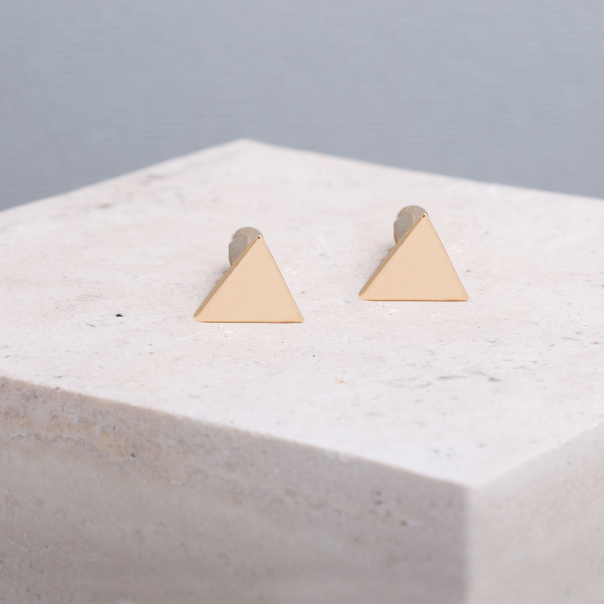 دکمه سردست طلا مثلث