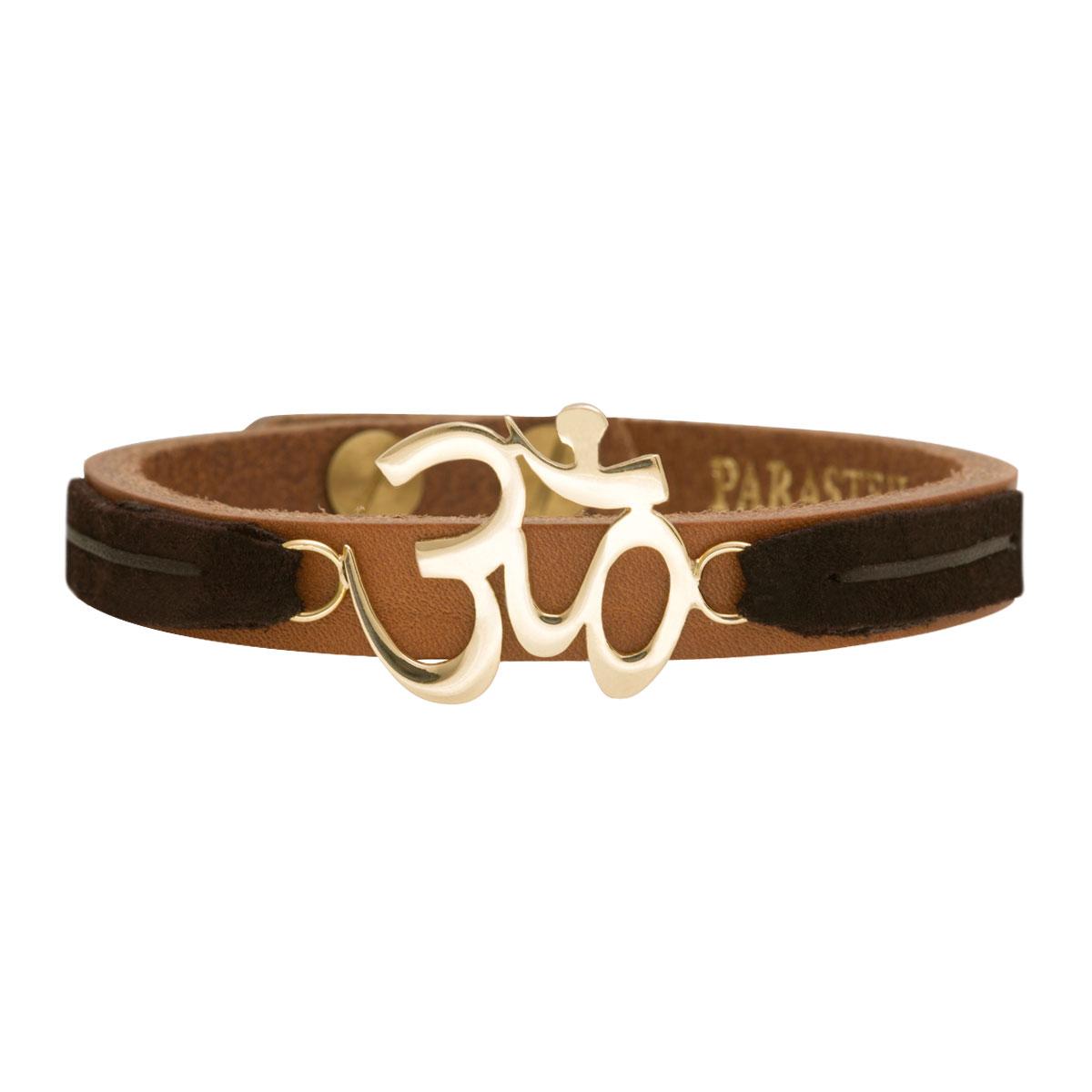 دستبند طلا اُم
