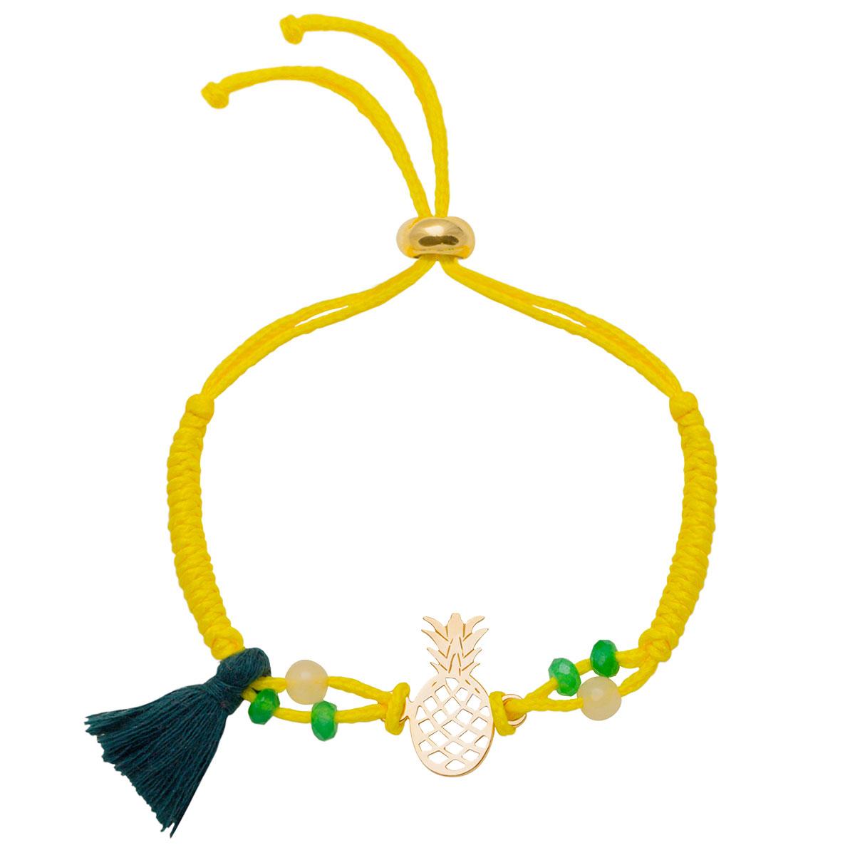 دستبند طلا آناناس