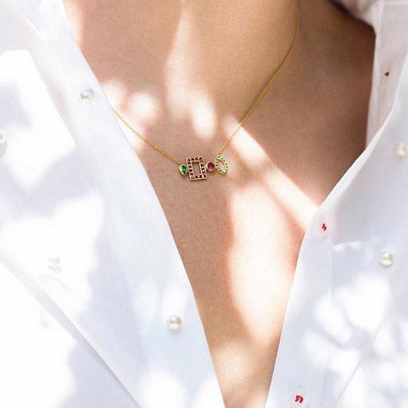 گردنبند طلا Azalea