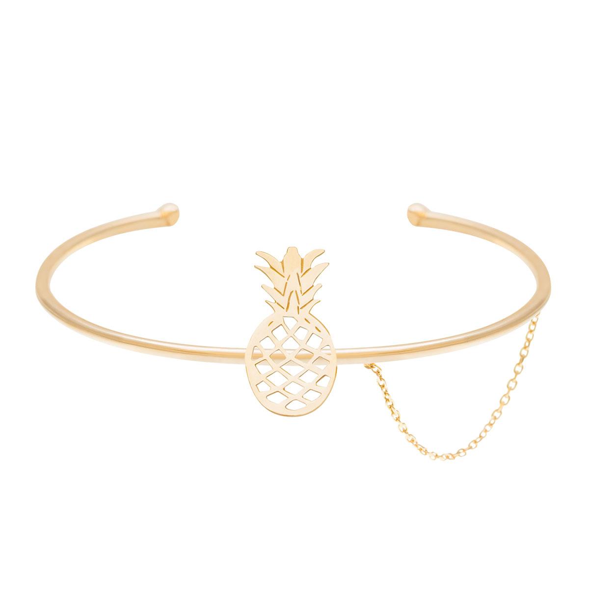 پرسته النگو طلا آناناس