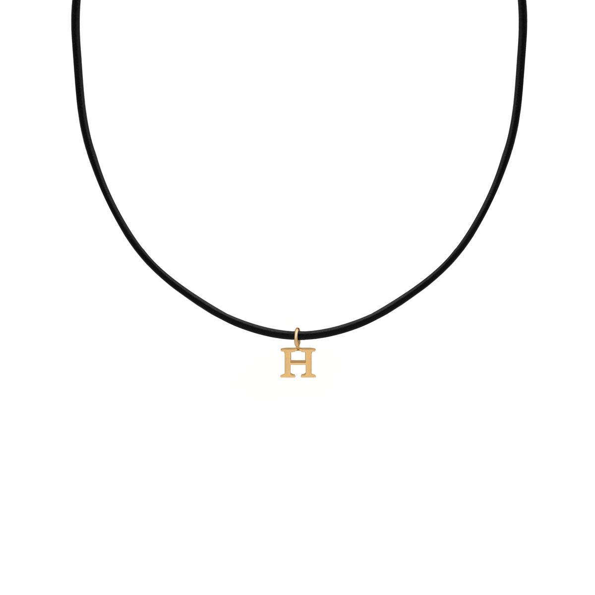 پرسته گردنبند طلا H