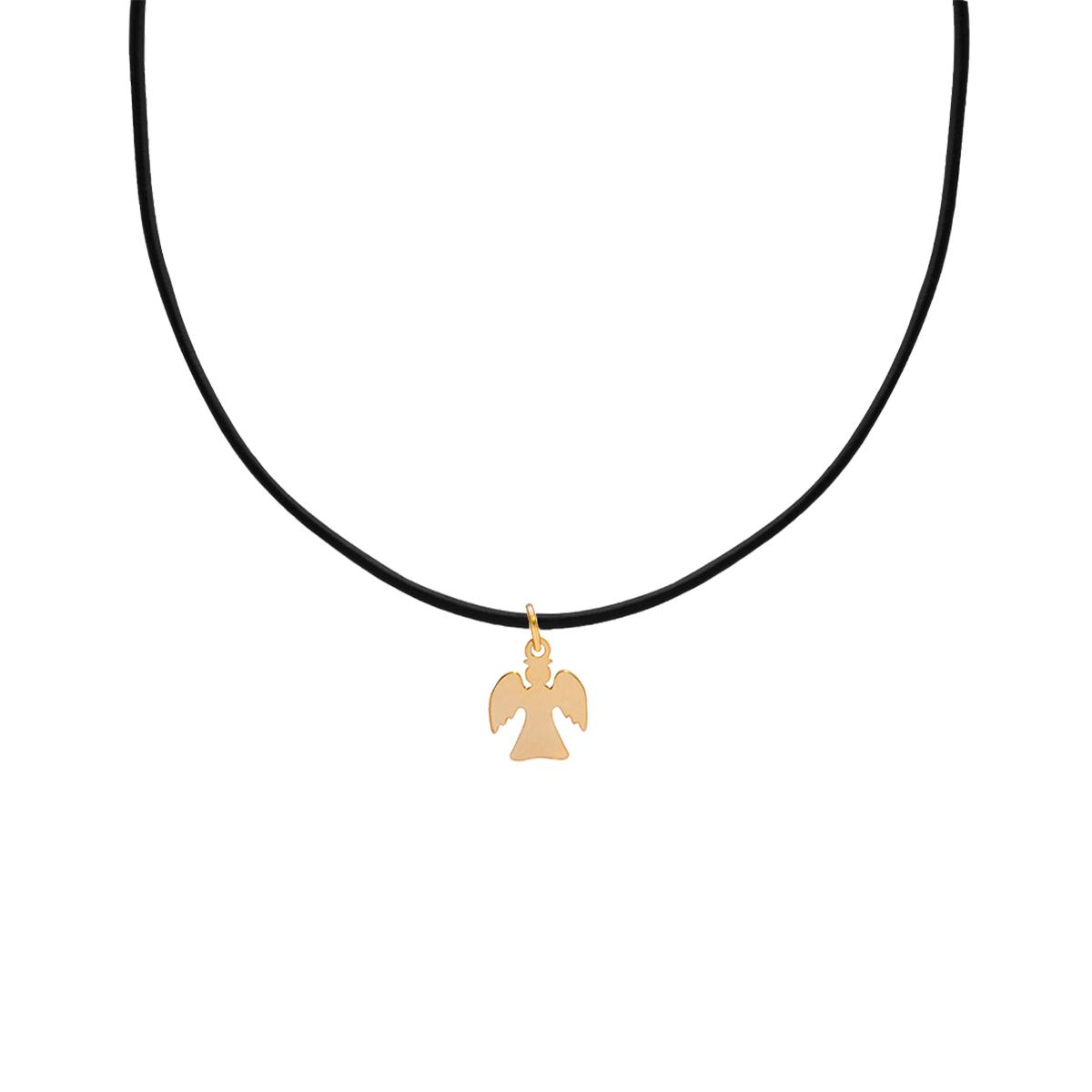 پرسته گردنبند طلا فرشته کوچک