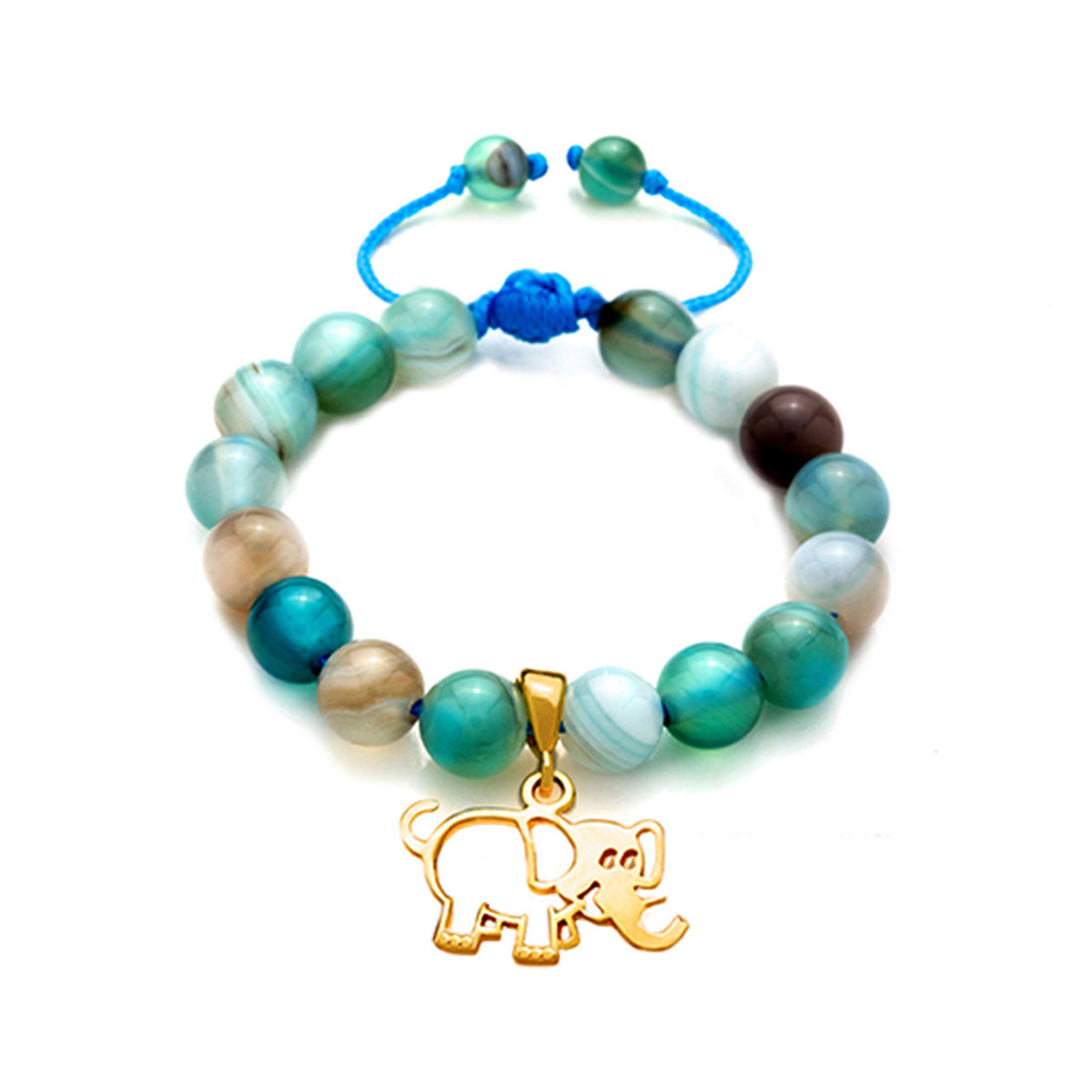 دستبند طلا پسرانه فیل