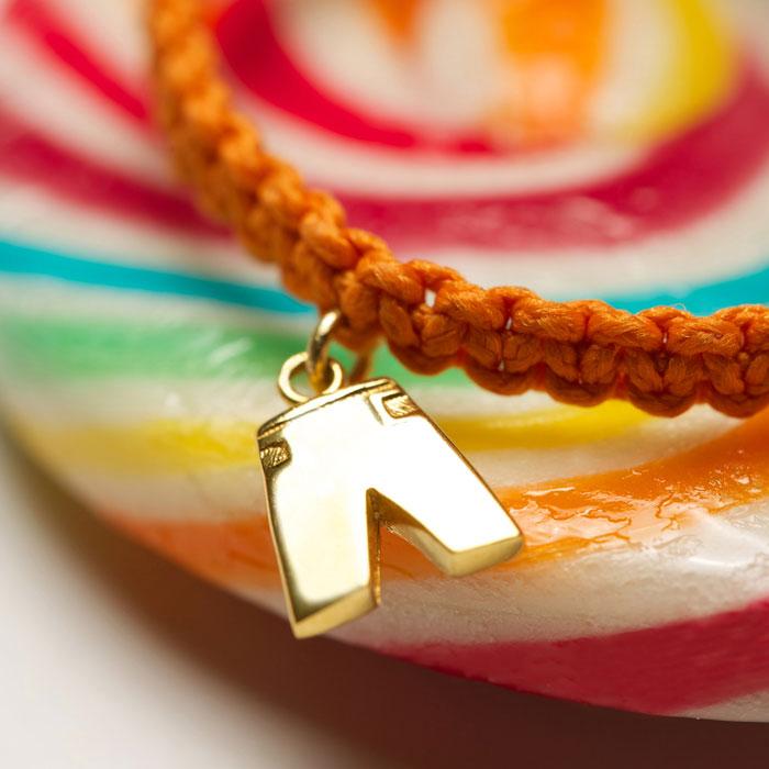 دستبند طلا پسرانه شلوار ۲