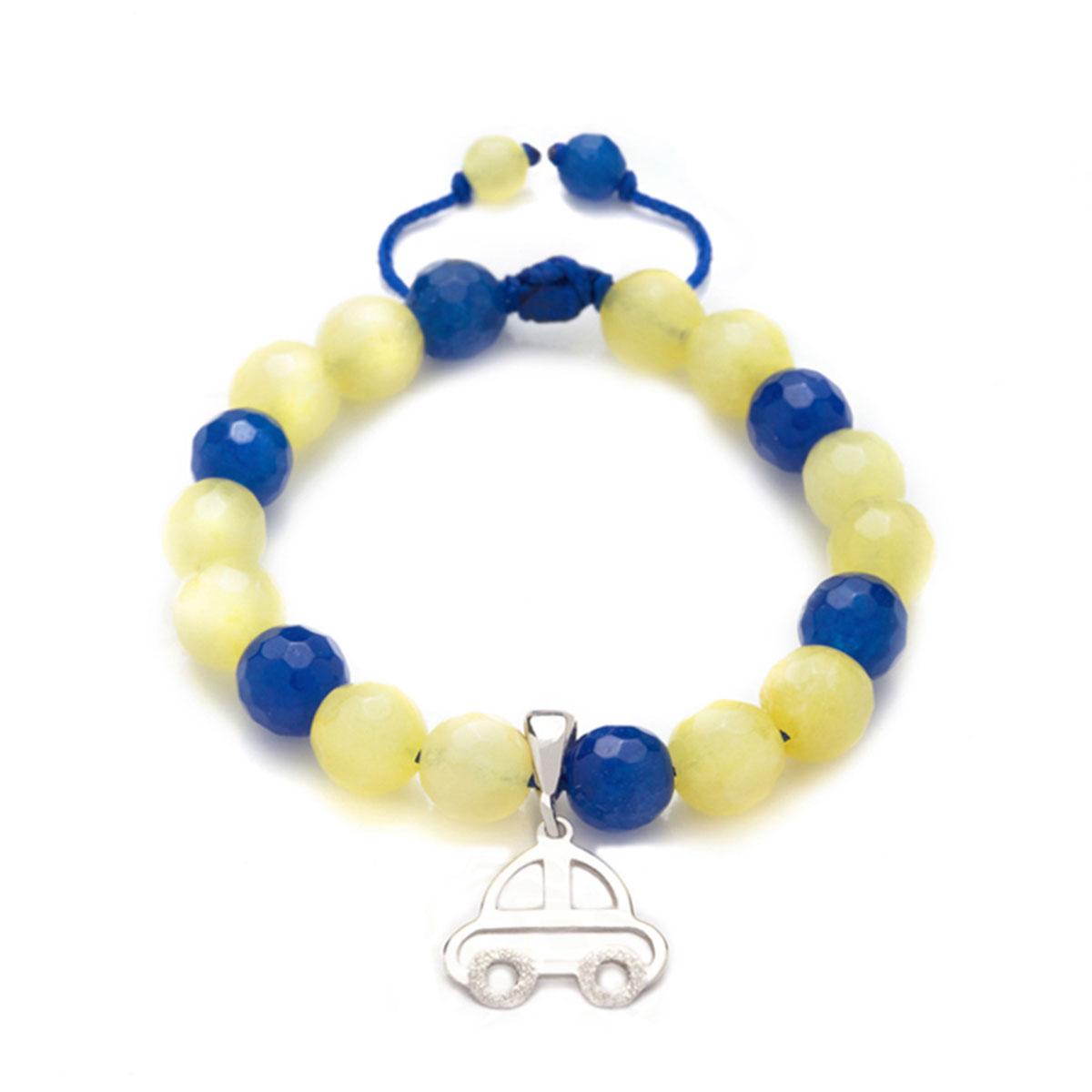 دستبند طلا پسرانه ماشین