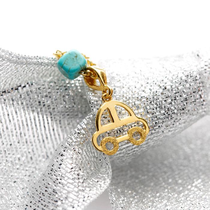 دستبند طلا پسرانه ماشین ۲