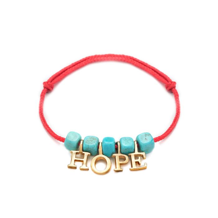 دستبند طلا دخترانه Hope