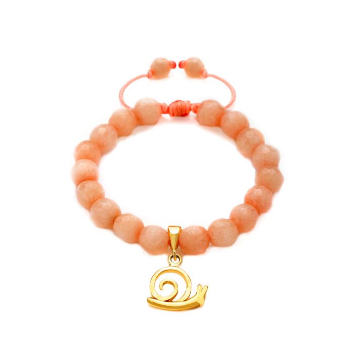 دستبند طلا حلزون