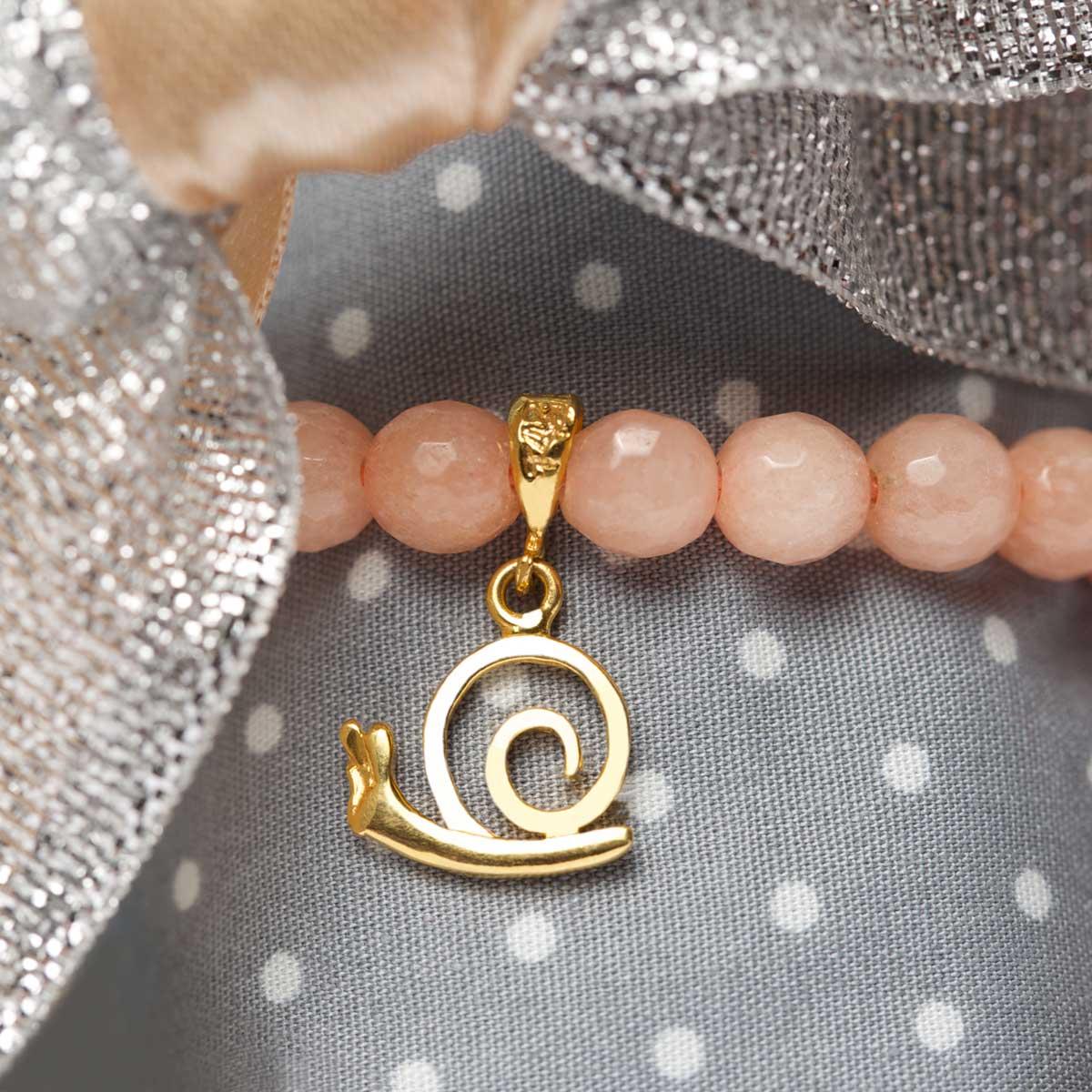 دستبند طلا حلزون ۲