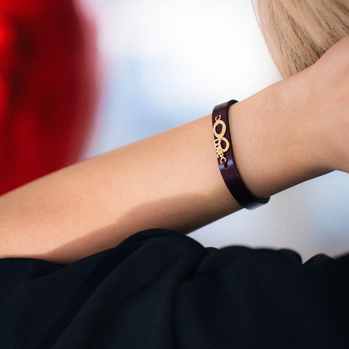 دستبند طلا عشقِ بینهایت ۲