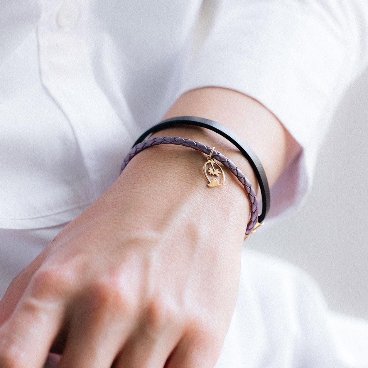 دستبند طلا گنجشک 2