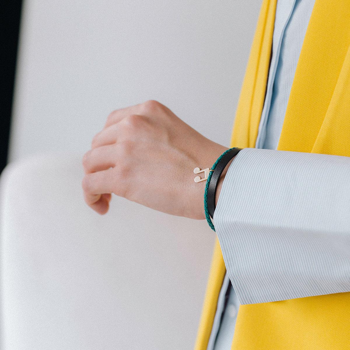دستبند طلا نت ۲