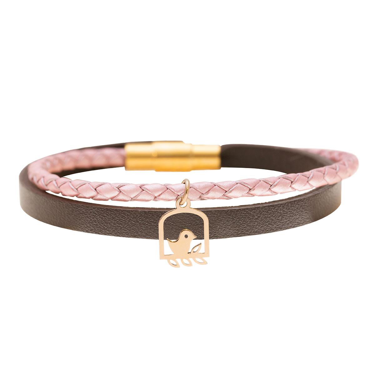 دستبند طلا گنجشک