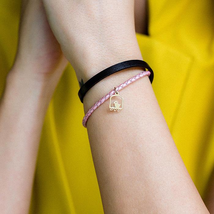 دستبند طلا گنجشک ۲