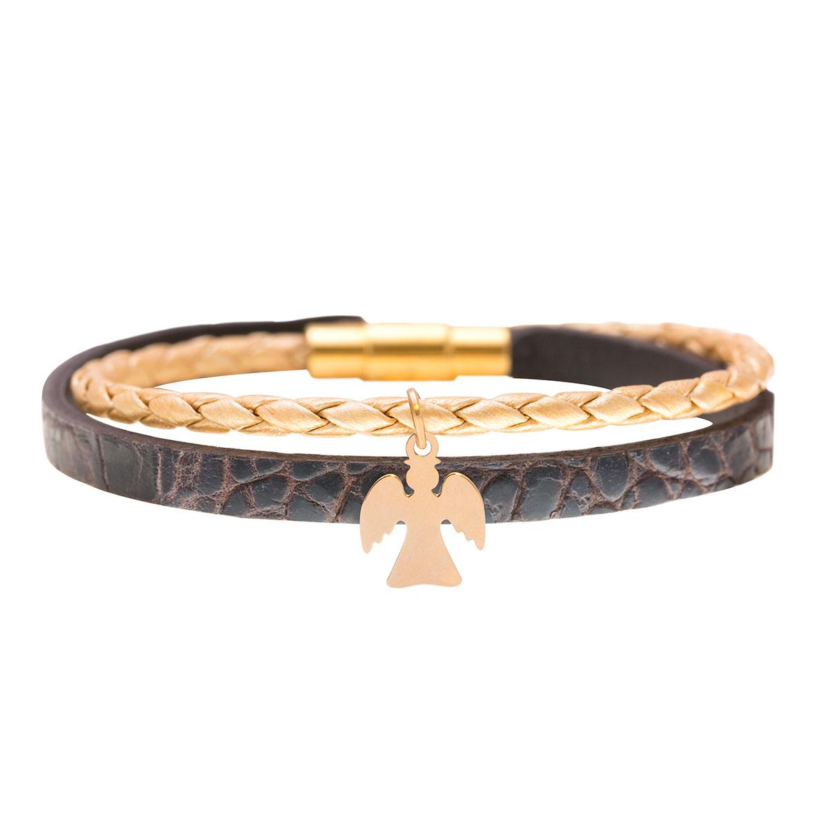 دستبند طلا فرشته کوجک