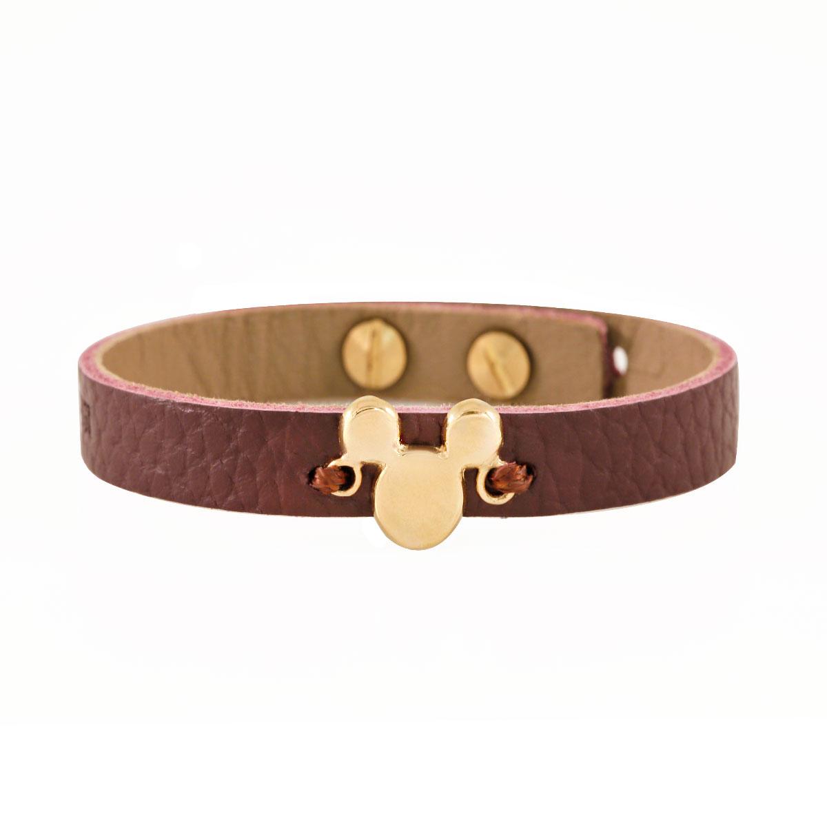 دستبند طلا Mickey mouse