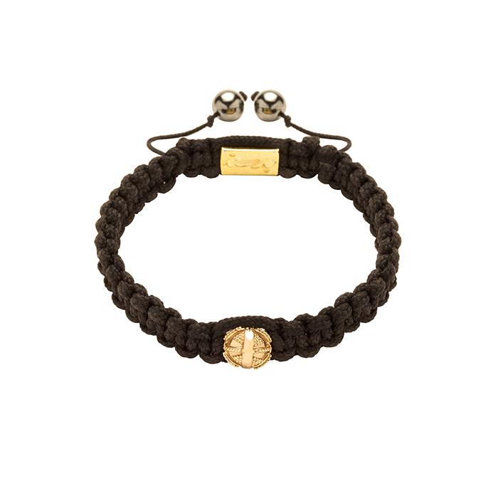 دستبند طلا گوی طرحدار
