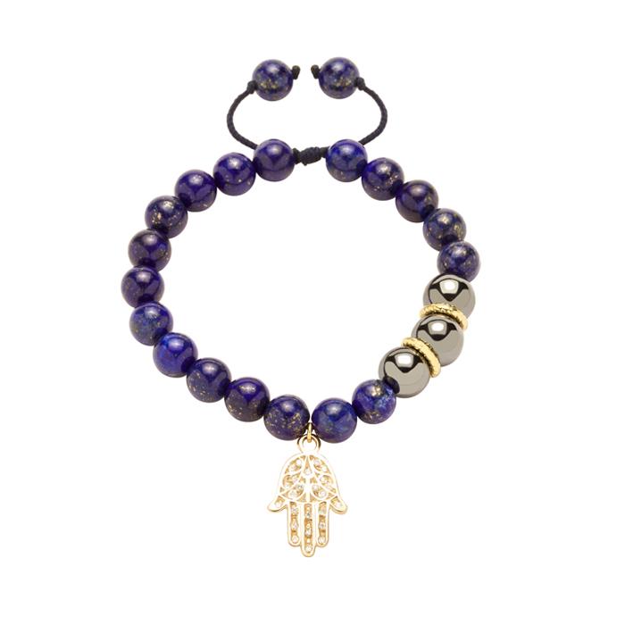 دستبند طلا دست طرحدار