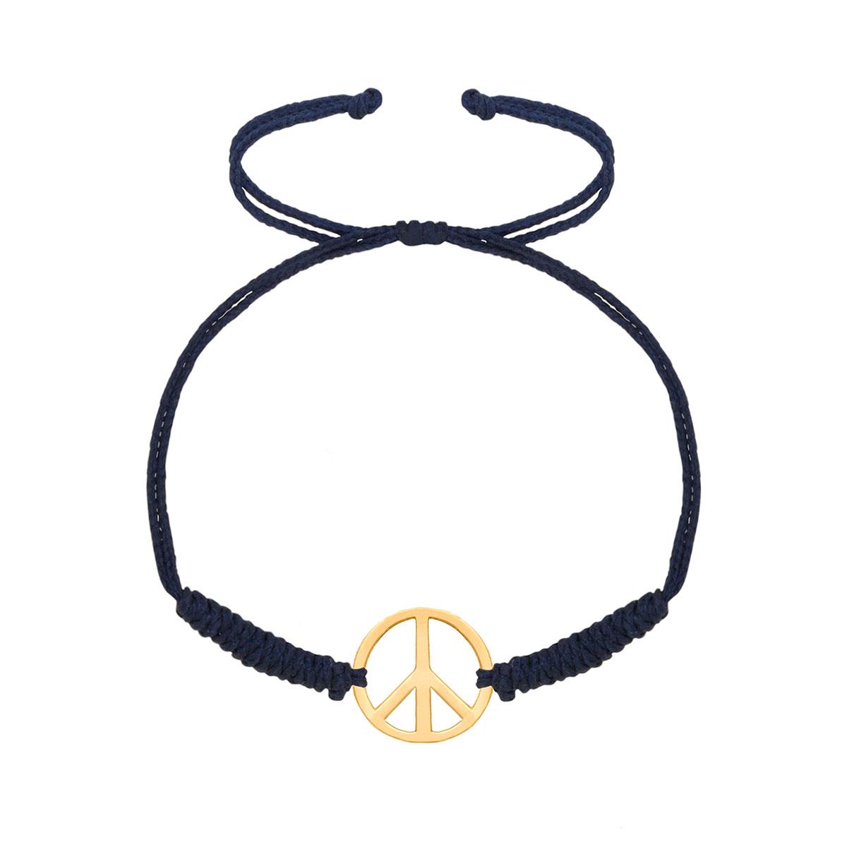 دستبند طلا Peace
