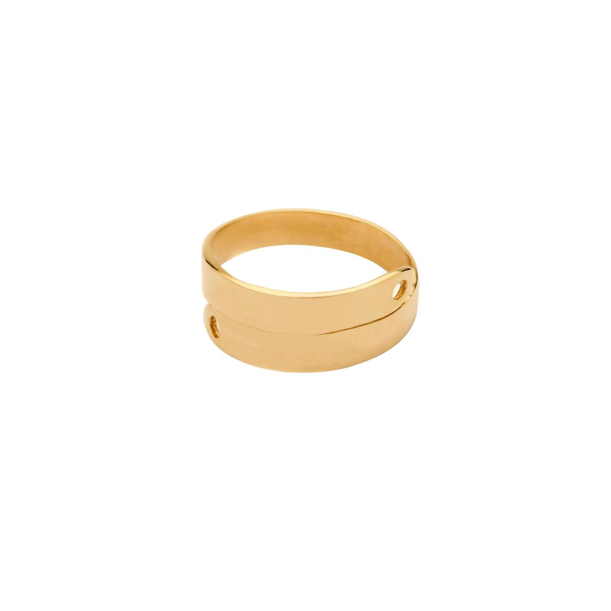 انگشتر طلا پلیت