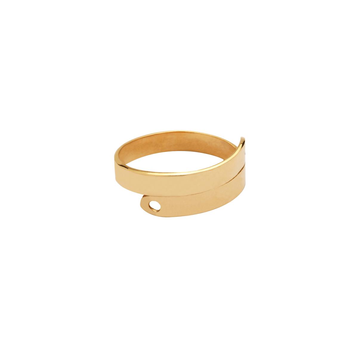 انگشتر طلا پلیت 2