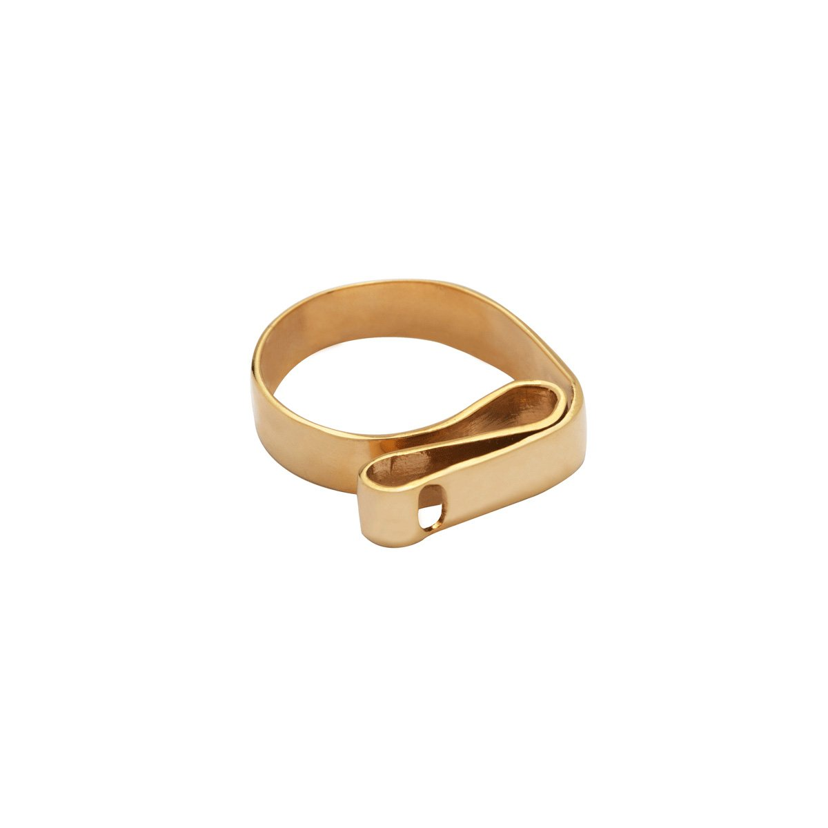 انگشتر طلا پلیت پیچ 2