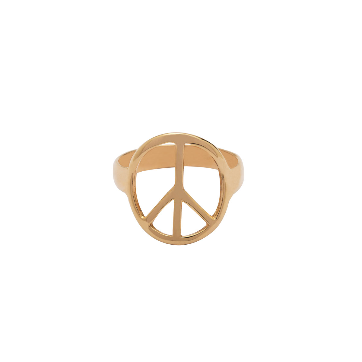 پرسته انگشتر طلا Peace