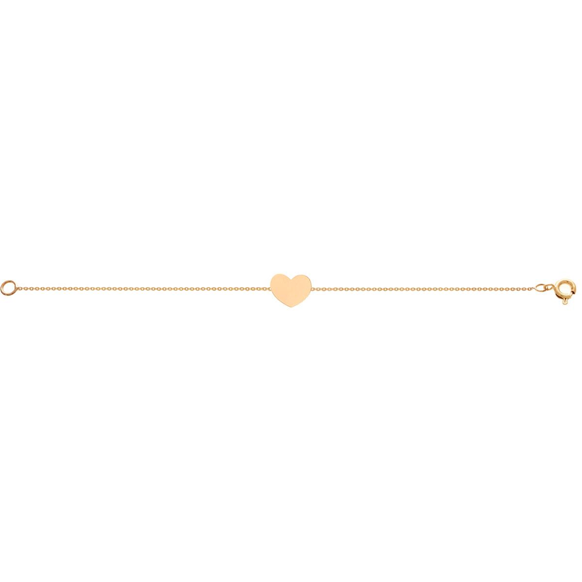 پرسته پابند طلا قلب
