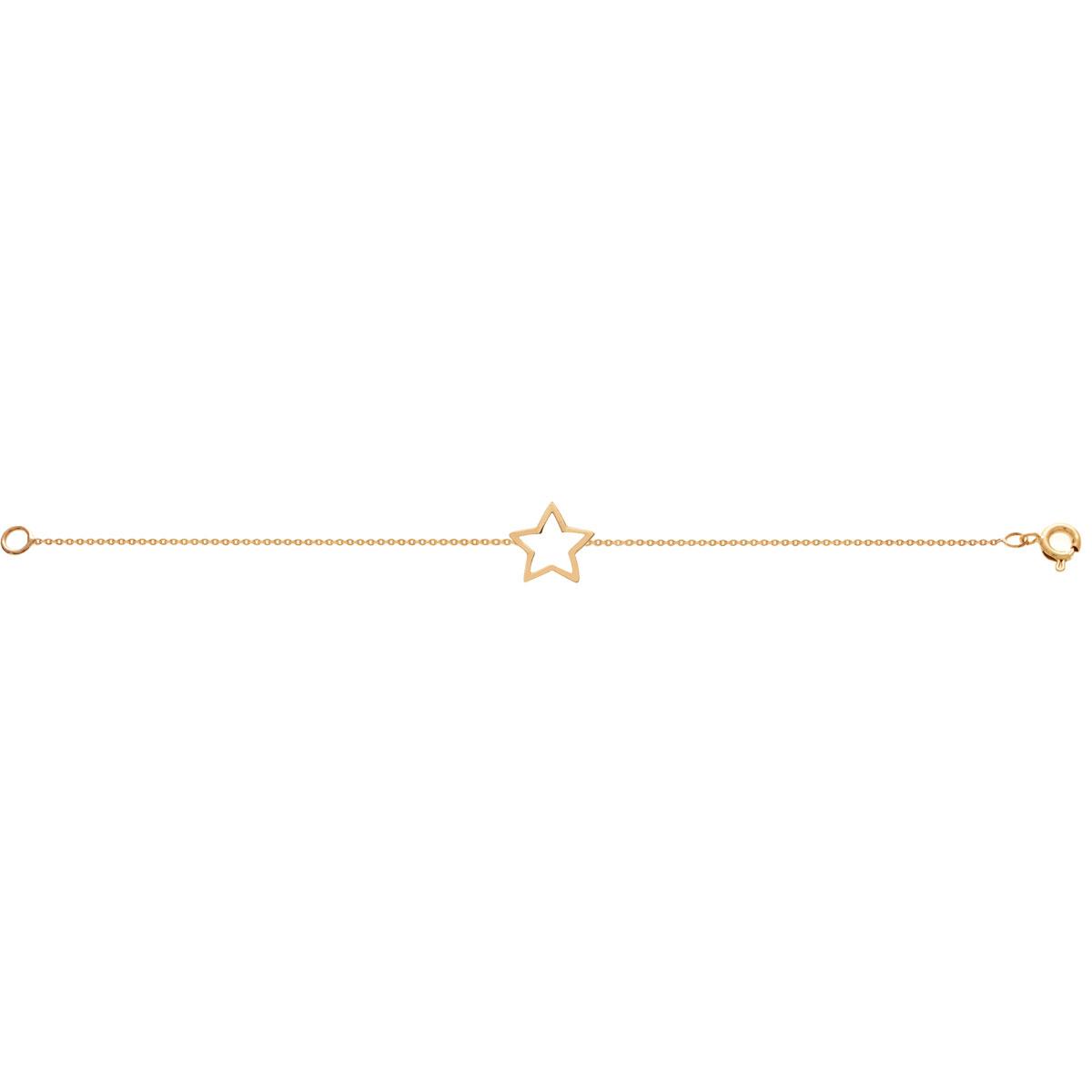 پرسته پابند طلا ستاره
