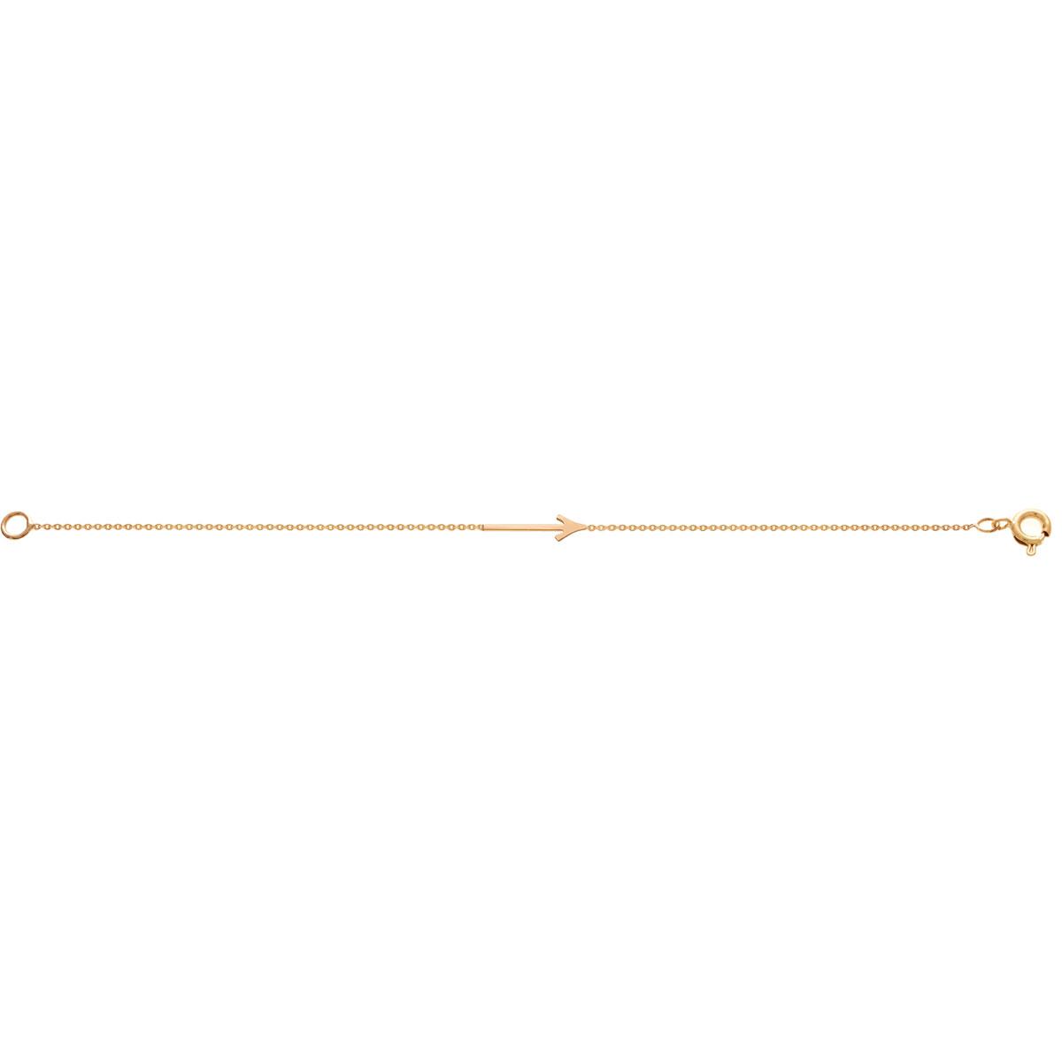 پرسته پابند طلا پیکان
