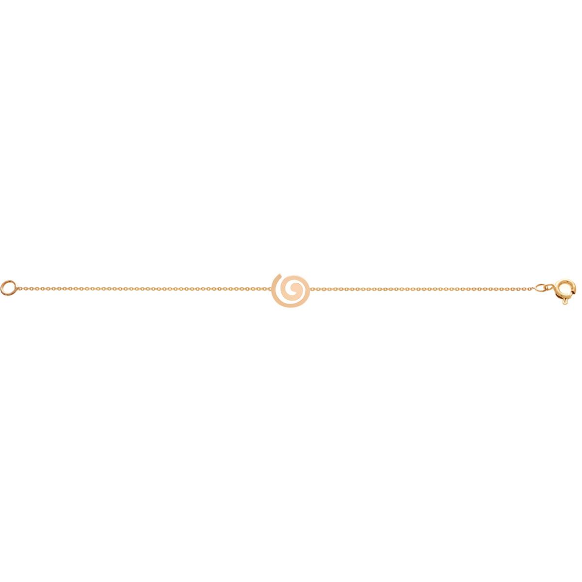 پرسته پابند طلا Spiral