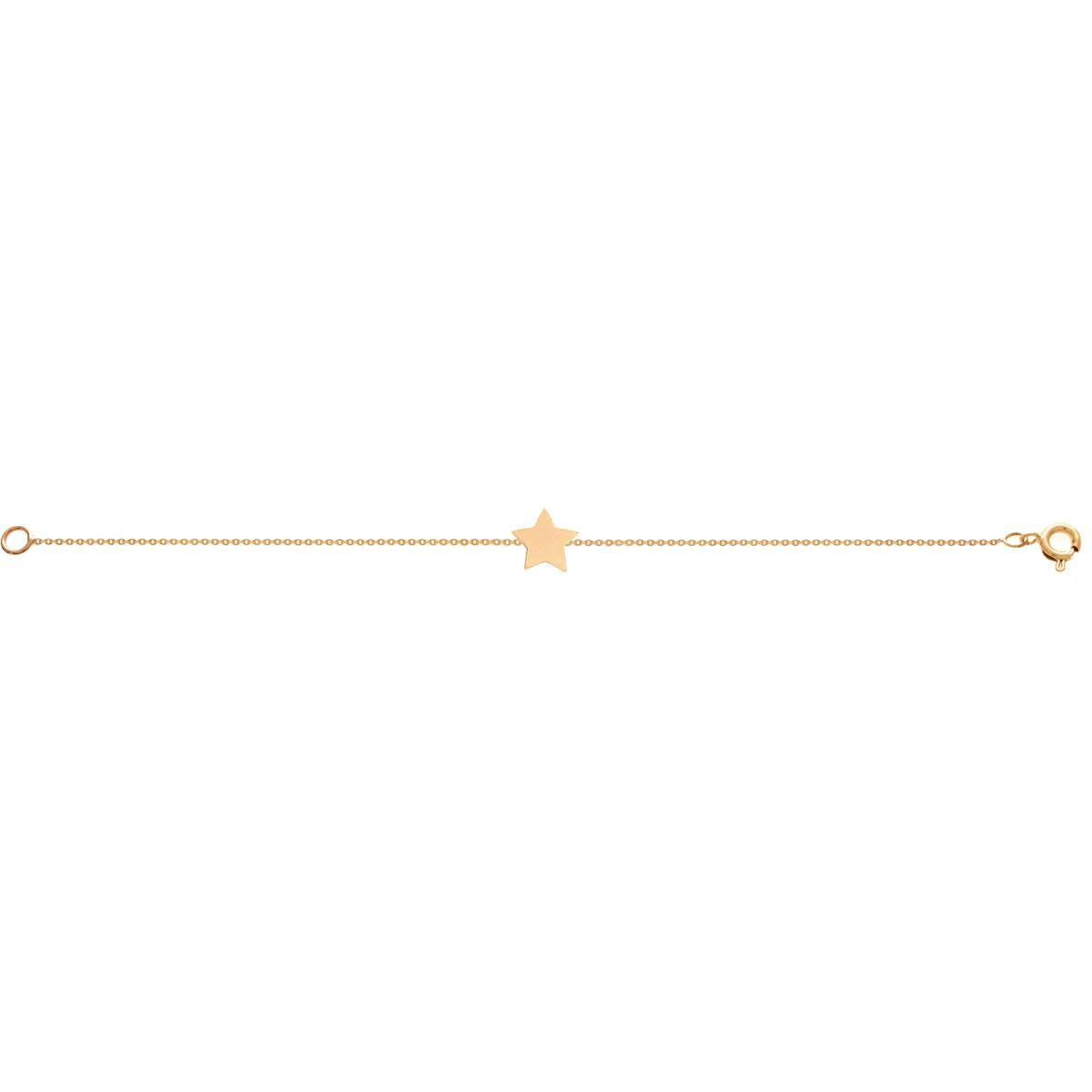 پرسته پابند طلا ستاره تخت