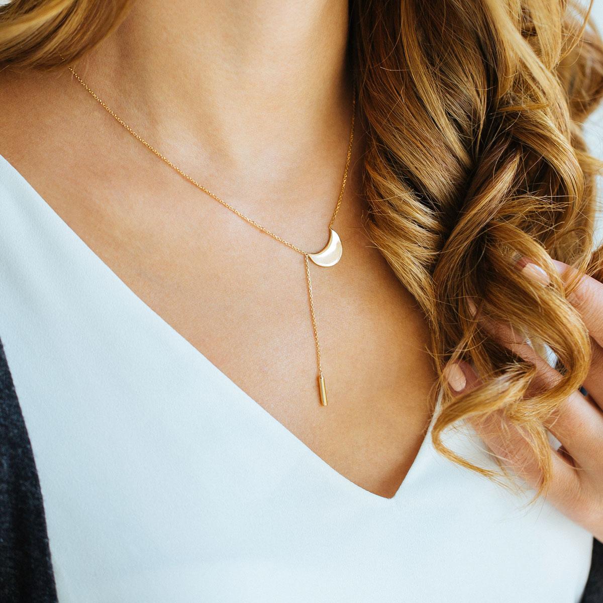گردنبند طلا لونا