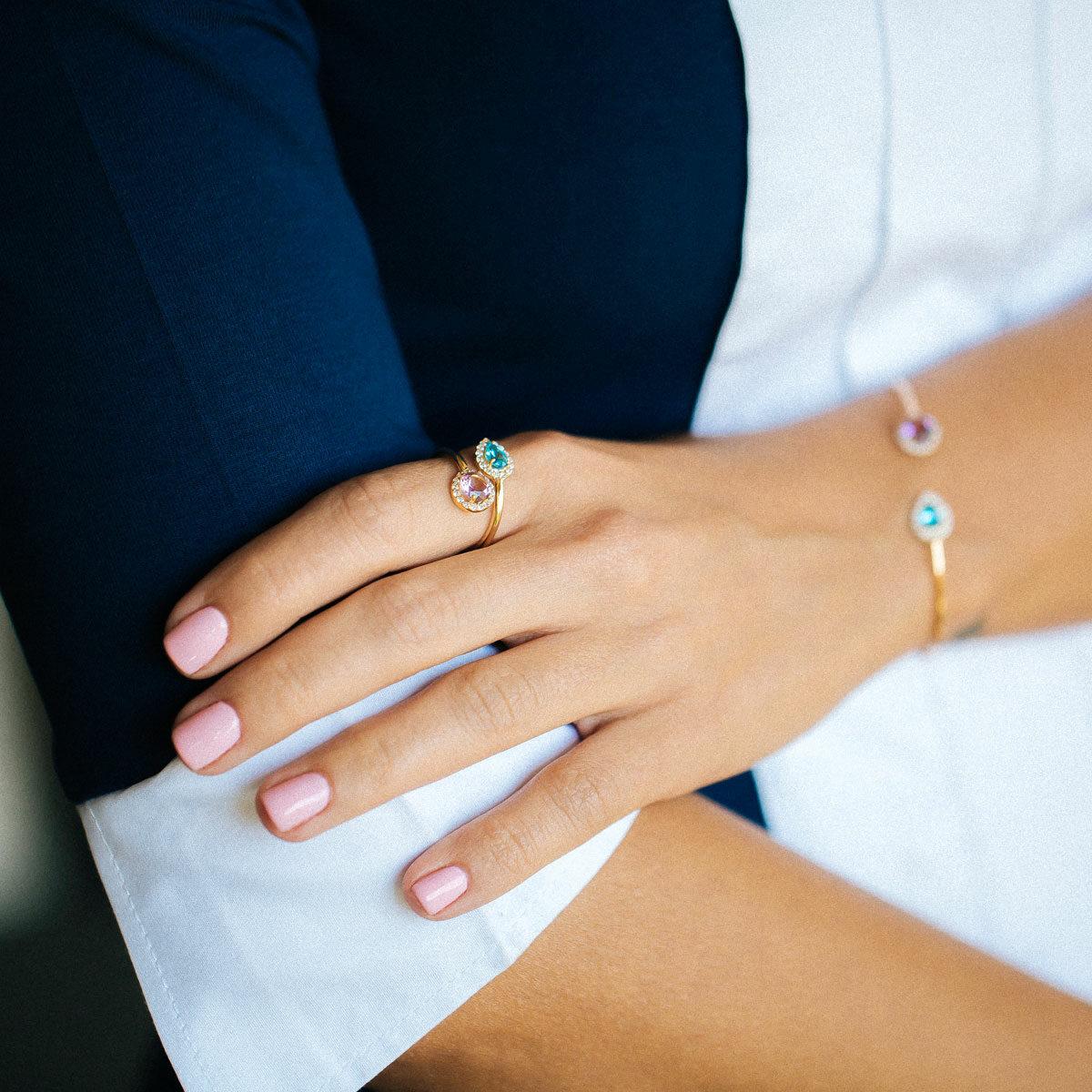 پرسته انگشتر طلا آترینا ۲