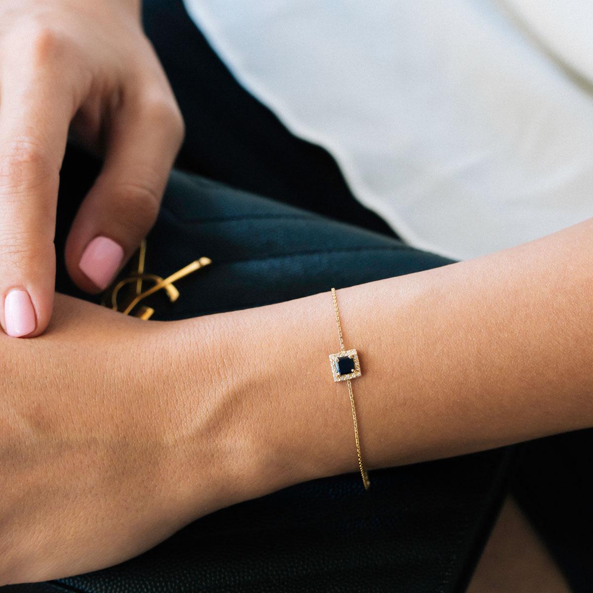 دستبند طلا آتریا