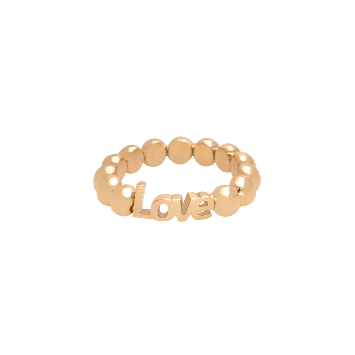 پرسته انگشتر طلا Love کوچک