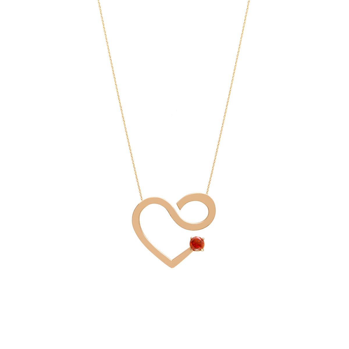 پرسته گردنبند طلا Valentine