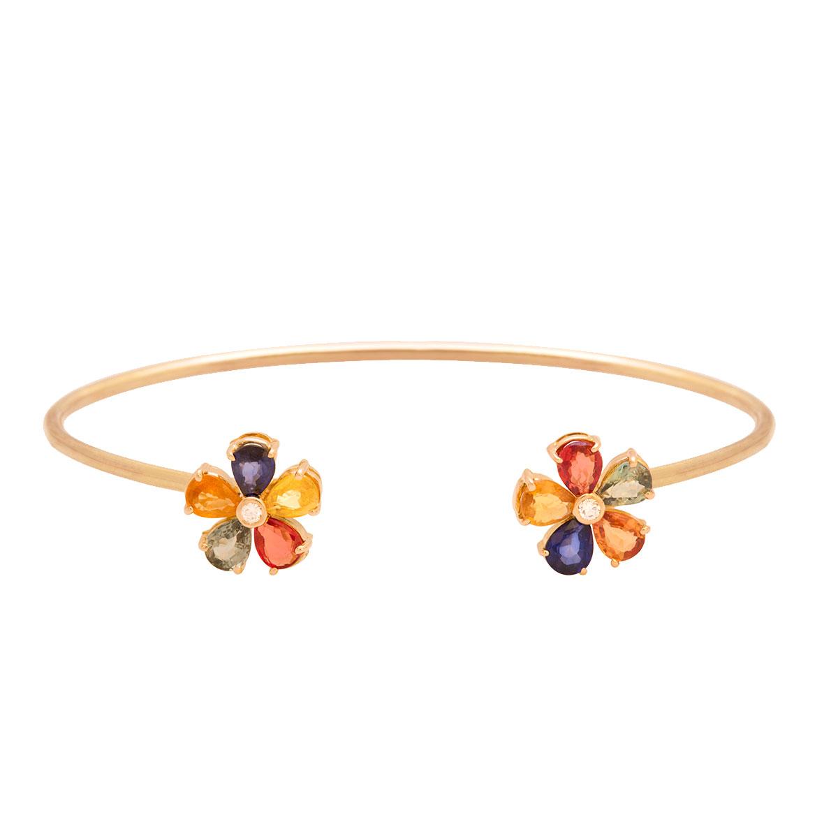 پرسته النگو طلا Multicolour