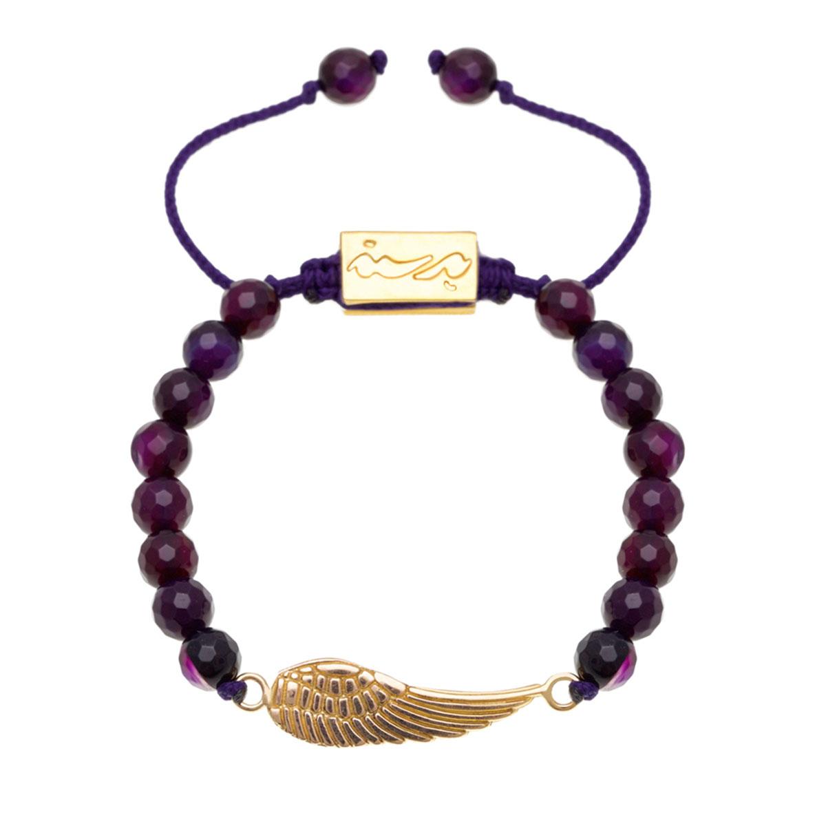 دستبند طلا بال فرشته