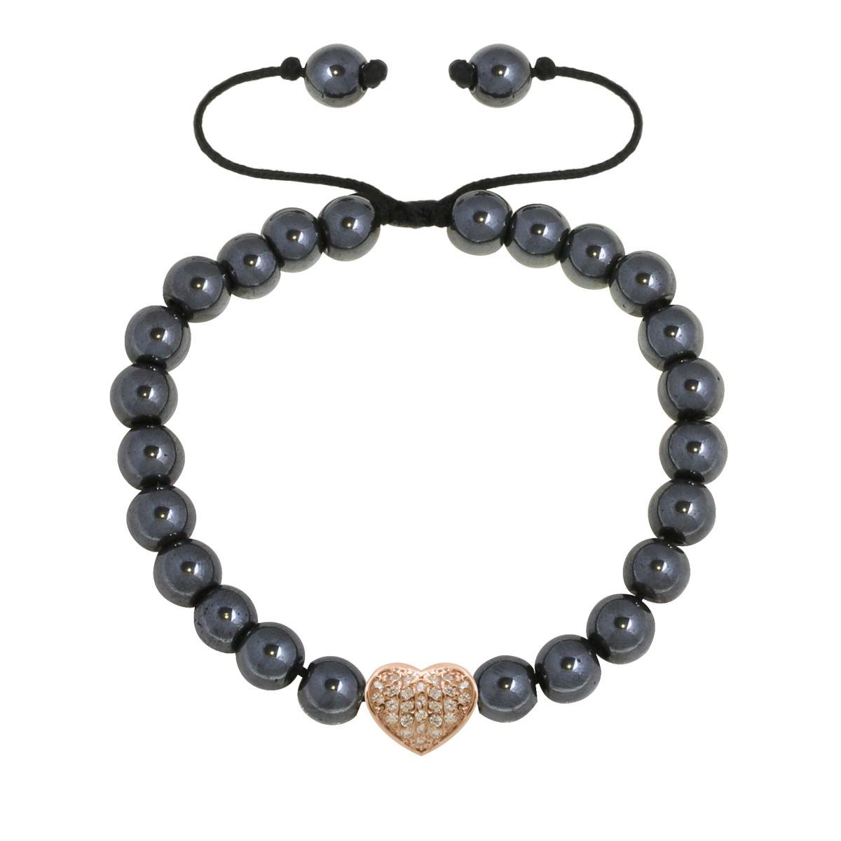 دستبند طلا قلب