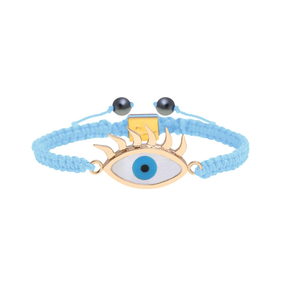 دستبند طلا چشم