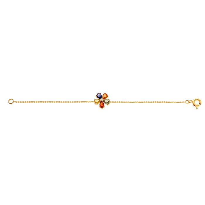 دستبند طلا Multicolour