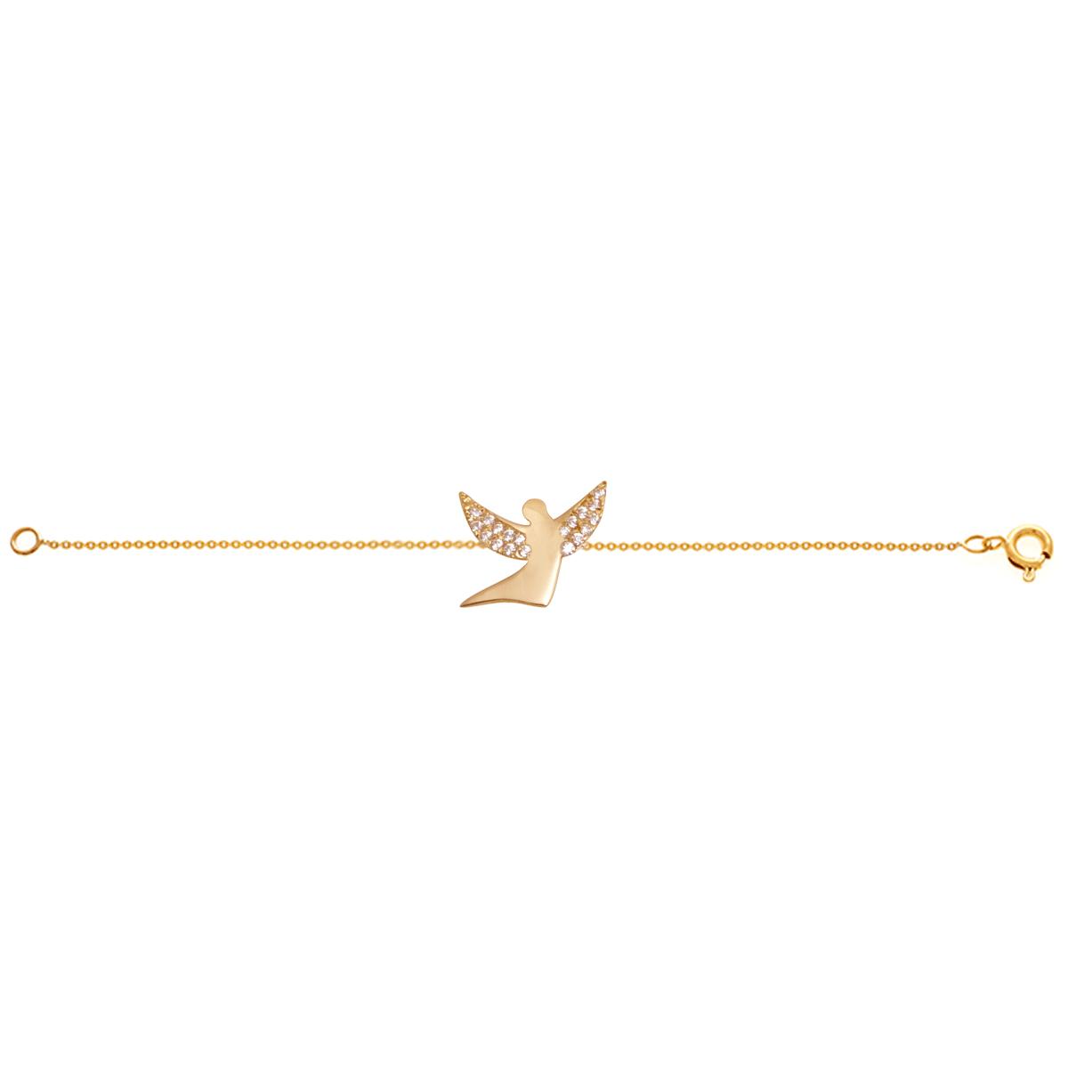 دستبند طلا فرشته