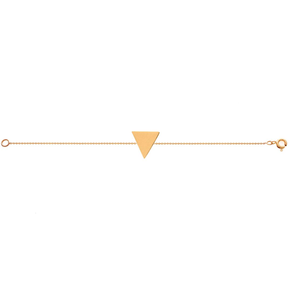 دستبند طلا مثلث