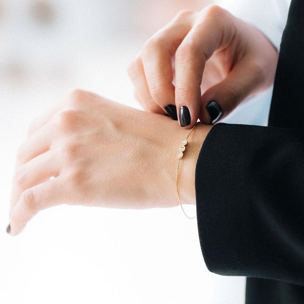دستبند طلا آرتمیس