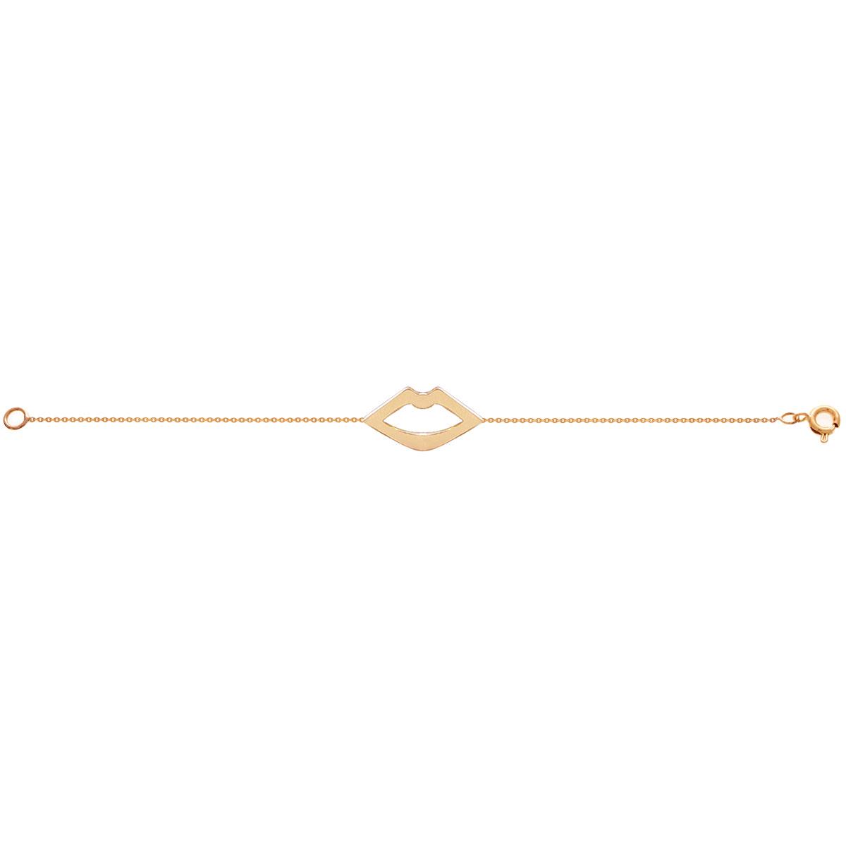 دستبند طلا لب